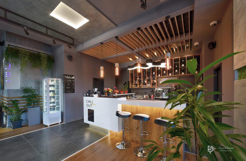 интериор на Chill Out кафе в гр.Стара Загора