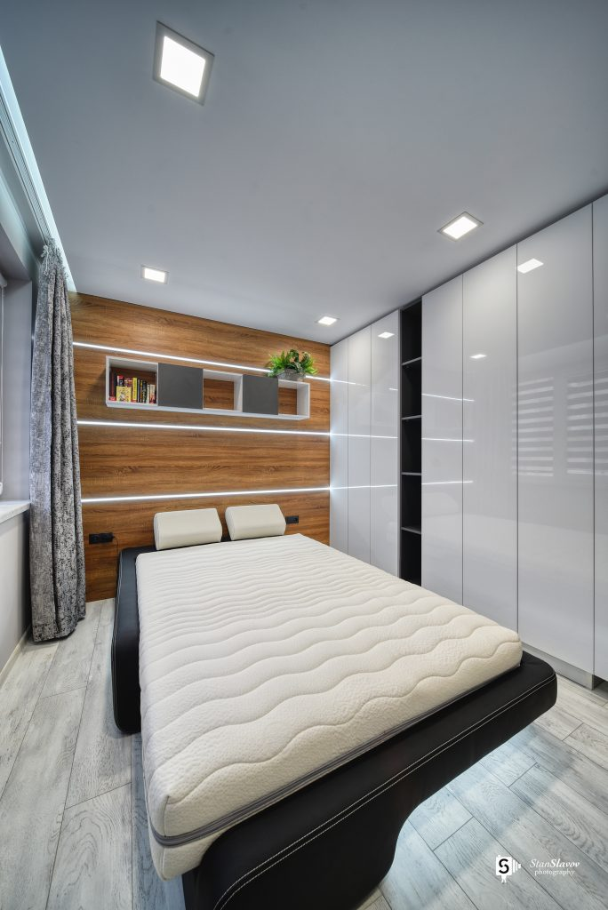 интериорна фотография на частен апартамент
