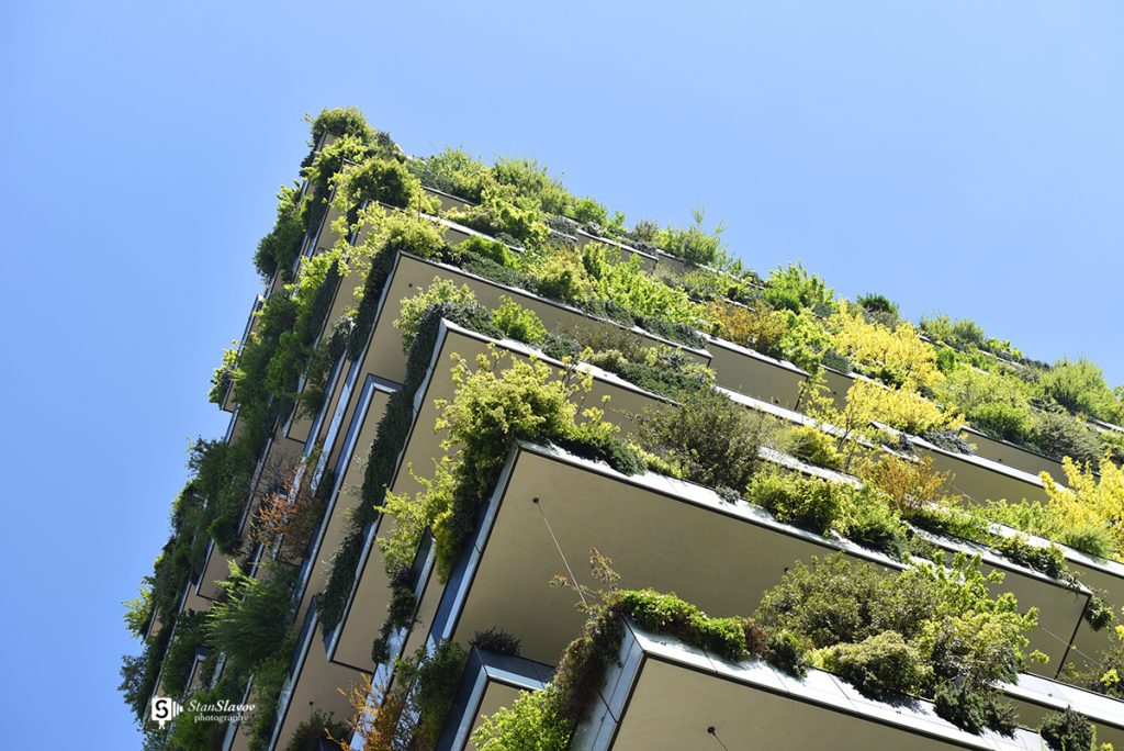 есктериорна фотография на Bosco Verticale Milano