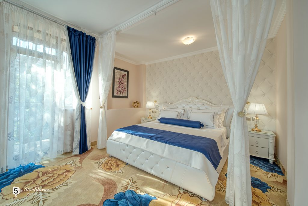 фотография на интериор на спалня