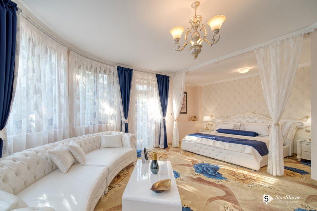 интериорна фотография на хотелска стая