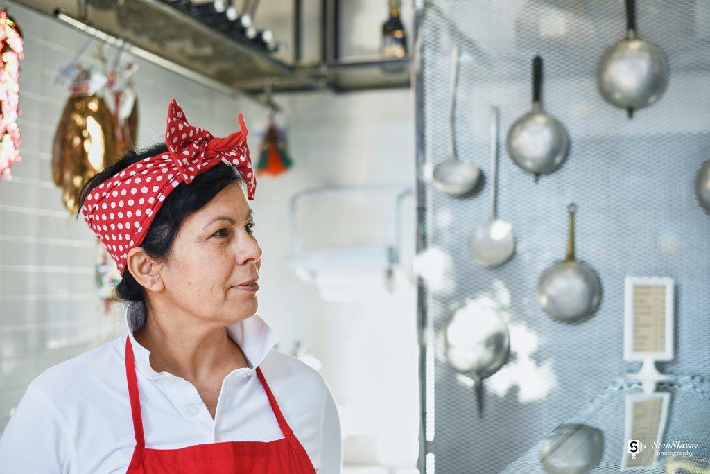 интериорна фотография на пицария