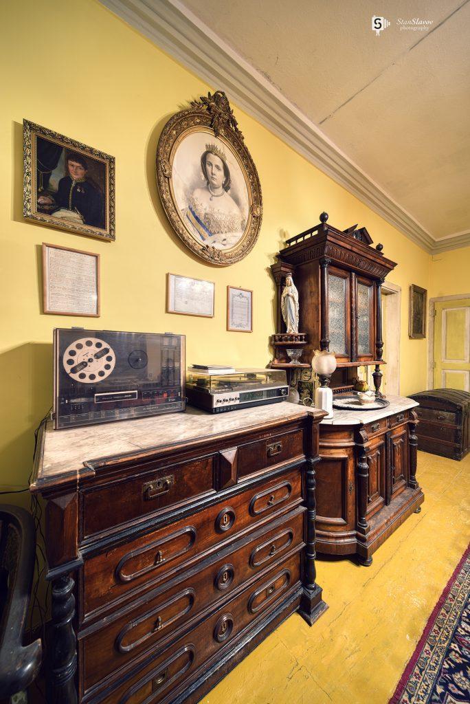 интериорна фотография на къща музей Испанското консулство в гр.Варна
