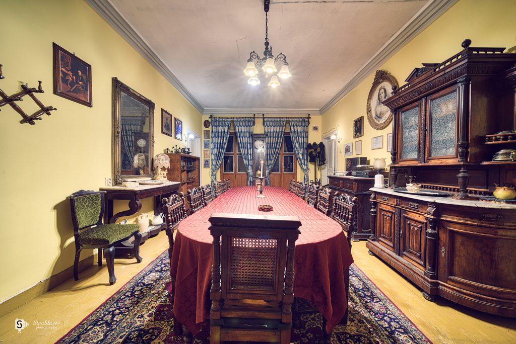 интериорна фотография на къща музей в гр.Варна