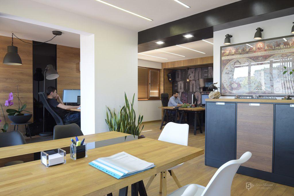 интериорна фотография на офис