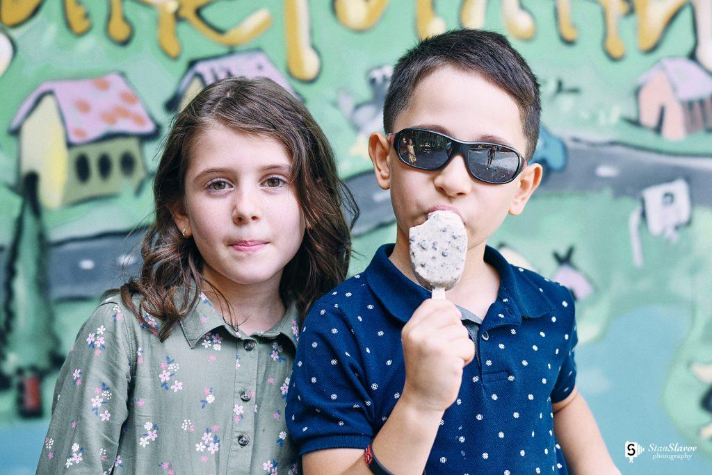 детска рекламна фотография